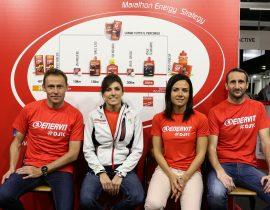 Stefano Baldini e l'equipe Enervit, coach d'eccezione alla EA7 Milano Marathon