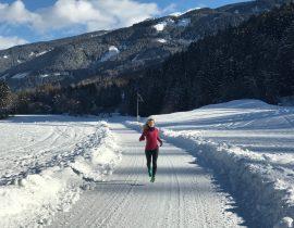 Dieci suggerimenti per correre con la neve